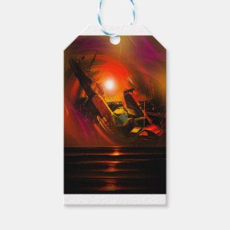 Sail romance gift tags