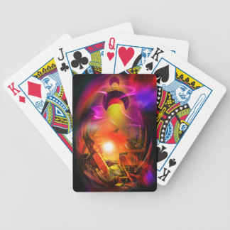 Sail romance - time tunnel bicycle playing cards
