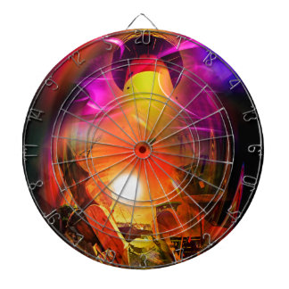 Sail romance - time tunnel dartboard