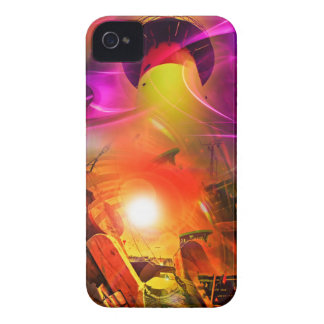 Sail romance - time tunnel iPhone 4 cover