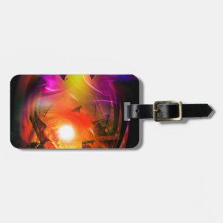 Sail romance - time tunnel luggage tag
