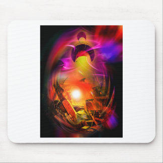Sail romance - time tunnel mouse pad