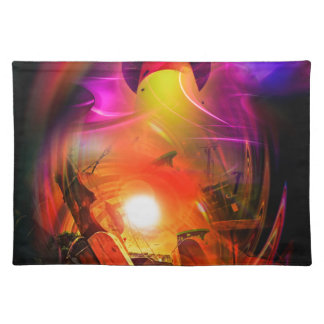 Sail romance - time tunnel placemat