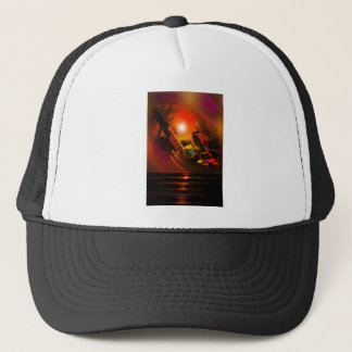 Sail romance trucker hat