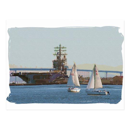 Sail San Diego Postcard