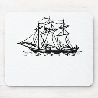 Sail Ship Mousepads