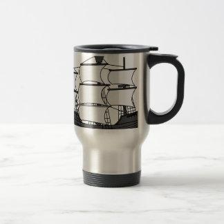 Sail Ship Travel Mug