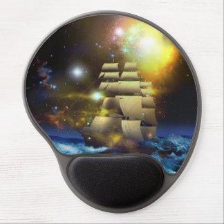 Sail Ship Universe Gel Mouse Pad