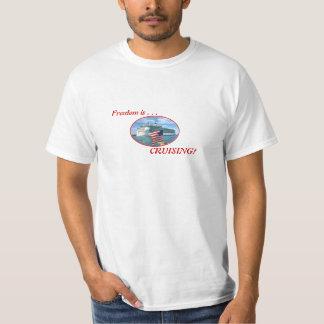 Sailaway Cruise Oval T-Shirt