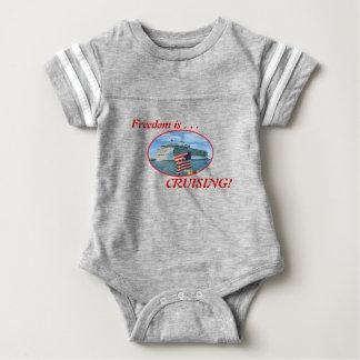 Sailaway Cruising Freedom Baby Bodysuit