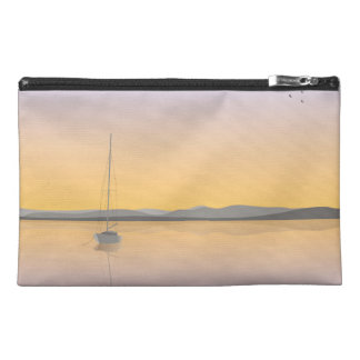 Sailboat anchored travel accessory bags