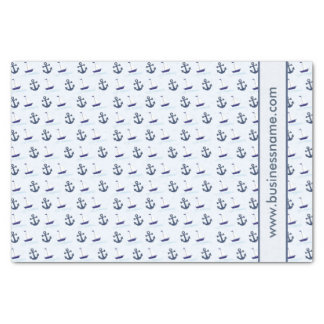Sailboat and Anchor Tissue Paper