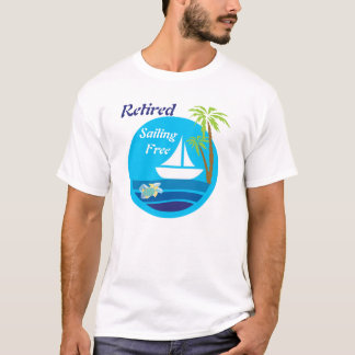Sailboat and Turtle T-shirt