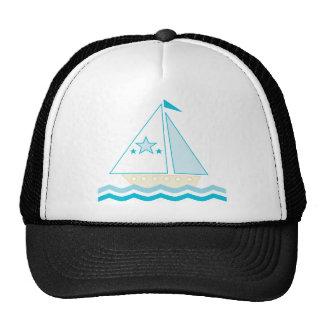 Sailboat (blue) hat