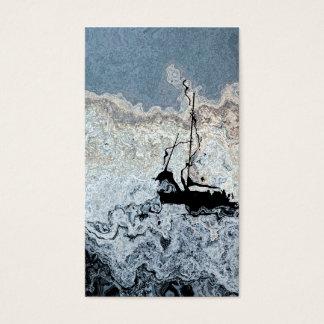 Sailboat Blue Sailing Abstract Seascape