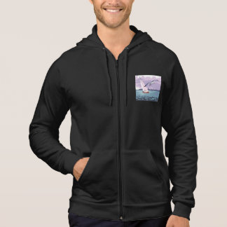 Sailboat California Fleece Sleeveless Hoodie