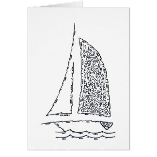 SAILBOAT NOTE CARD
