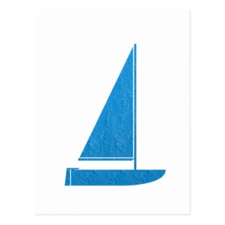 SailBOAT Club Gifts Sail Boat ART NVN41 navinJOSHI Postcard