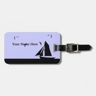 Sailboat Custom Luggage Tag