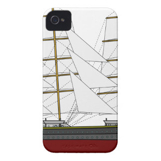 Sailboat Drawing Case-Mate iPhone 4 Case