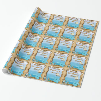 Sailboat Father's Day Wrapping Paper