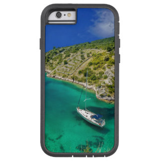 Sailboat in Emerald Green Ocean Tough Xtreme iPhone 6 Case