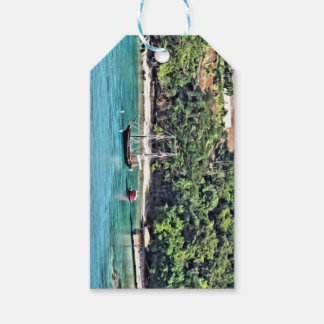 Sailboat in the Bay Gift Tags