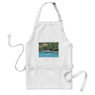 Sailboat in the Bay Standard Apron