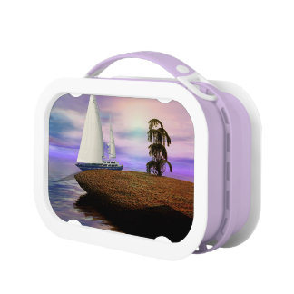 Sailboat in the Ocean Lunch Box
