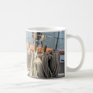 Sailboat Lines Coffee Mug