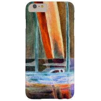 Sailboat Modern Abstract Sailing CricketDiane Barely There iPhone 6 Plus Case