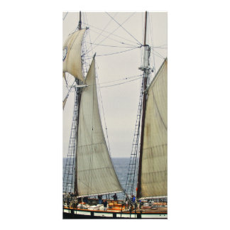 Sailboat Picture Card