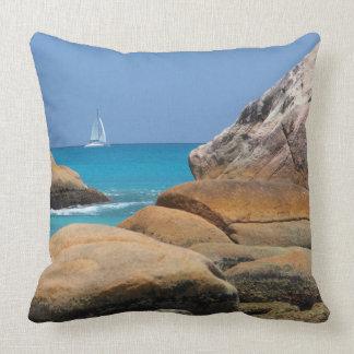 Sailboat Pillow - Vacation Series