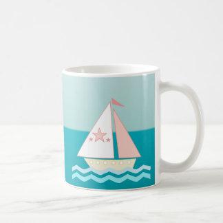 Sailboat (pink) mugs
