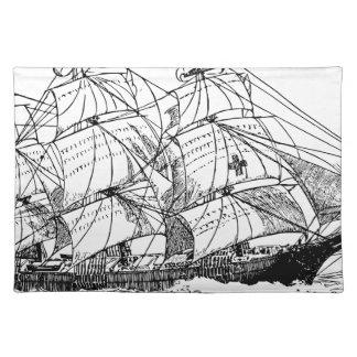 Sailboat Placemat