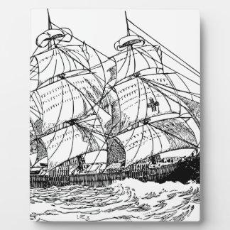 Sailboat Plaque