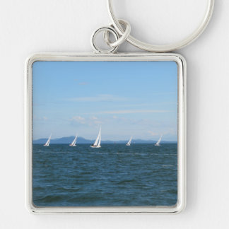 Sailboat Races Key Ring