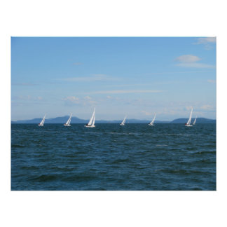 Sailboat Races Posters