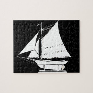 sailboat silhouette jigsaw puzzle