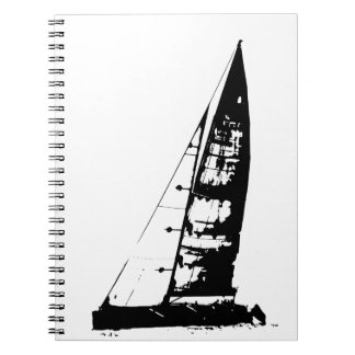 Sailboat Silhouette Notebook