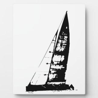 Sailboat Silhouette Plaque