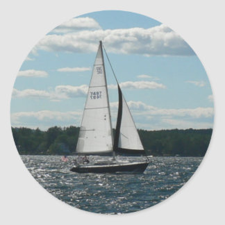Sailboat Sticker