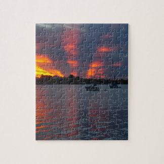 Sailboat sunset Puzzle