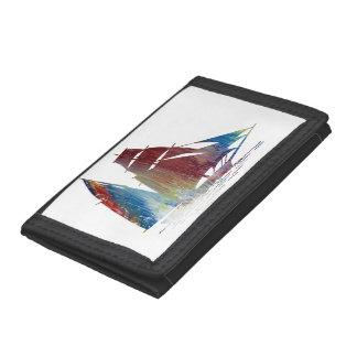 Sailboat Tri-fold Wallet