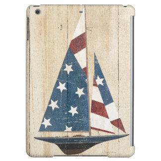 Sailboat With American Flag