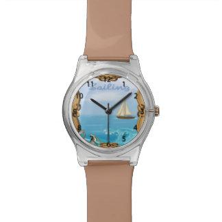Sailboat Wrist Watch