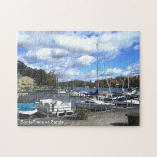 Sailboats at Sunapee. Jigsaw Puzzle