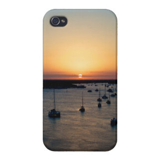 Sailboats at Sunrise iPhone 4 4/S case iPhone 4 Cover