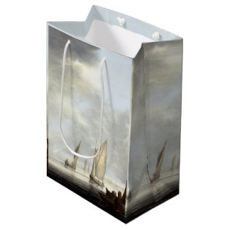 Sailboats Boats Harbor Ocean Sea Gift Bag