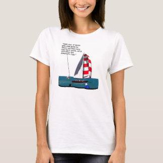 Sailboats - Cool Crew T-Shirt